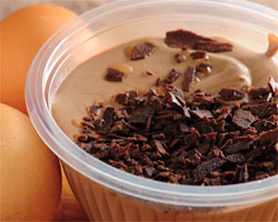 Mousse de Chocolate Microondas